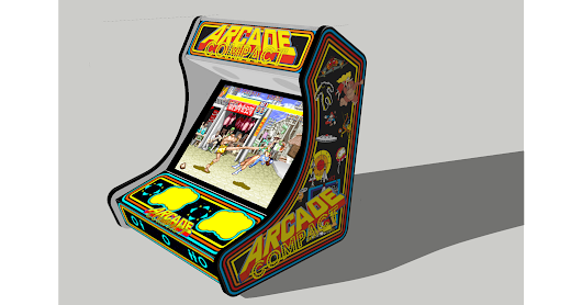 3D Modell ArcadeForge Bartop Arcade Compact