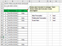 Cara Menggunakan Fungsi Counta dan Countblank Excel