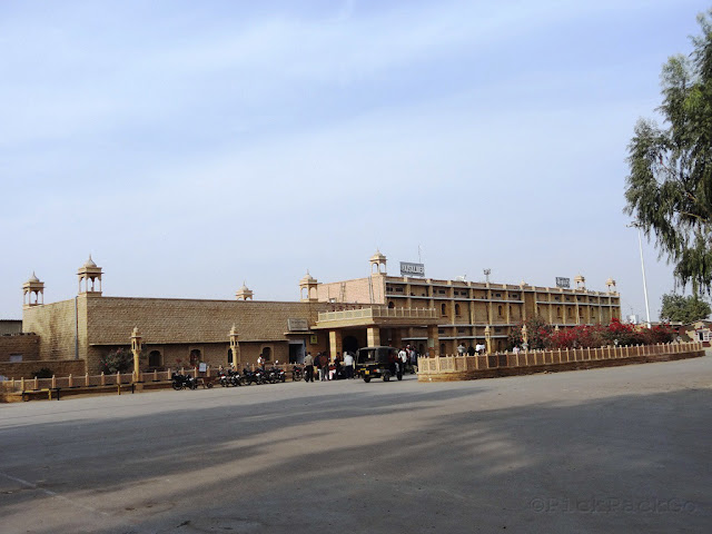 Jaisalmer Railway station - Rajasthan - Pick, Pack, Go