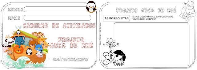 Projeto Arca de Noé Maternalzinho Vinicius de Moraes