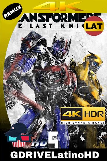 Transformers: El Último Caballero (2017) BDREMUX 2160P 4K HDR Latino-Ingles MKV