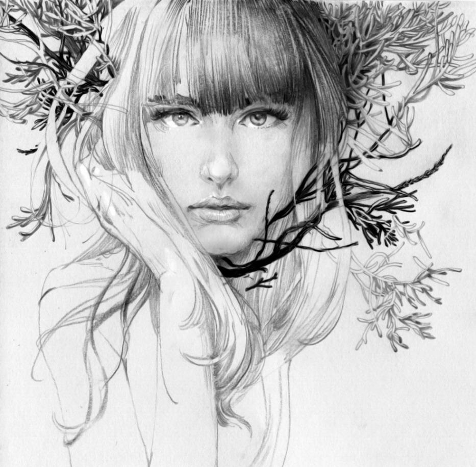Dibujos a lapiz de mujeres desnudas picture 752