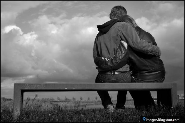9 Images Sad Couple Hug Love Bench