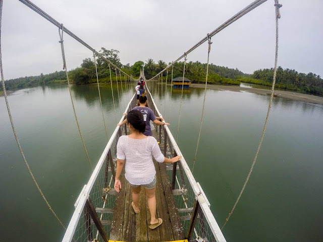 The Hanging Bridge in Baler QUEZON