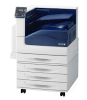 Fuji Xerox DocuPrint C5005D uses New ASIC 933MHz processor to print every document with good quality. This printer supports a minimal paper size of 88.9 x 98.4 mm and a maximum size of 320 x 1219 mm, with a paper weight of 60 x 220gsm