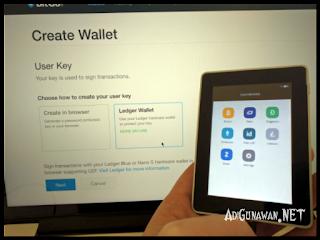 Menghubungkan Wallet ke Aplikasi