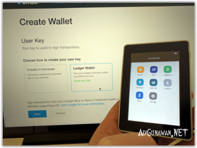 Panduan Setup dan Instalasi Perangkat Wallet Ledger Blue