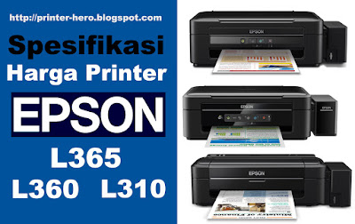 Printer Epson L365,L310,L360