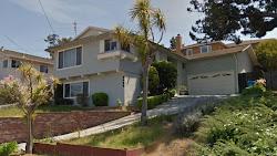 casas gris bonitas americanas pintadas claro casa fachadas ligero azul tintado techo
