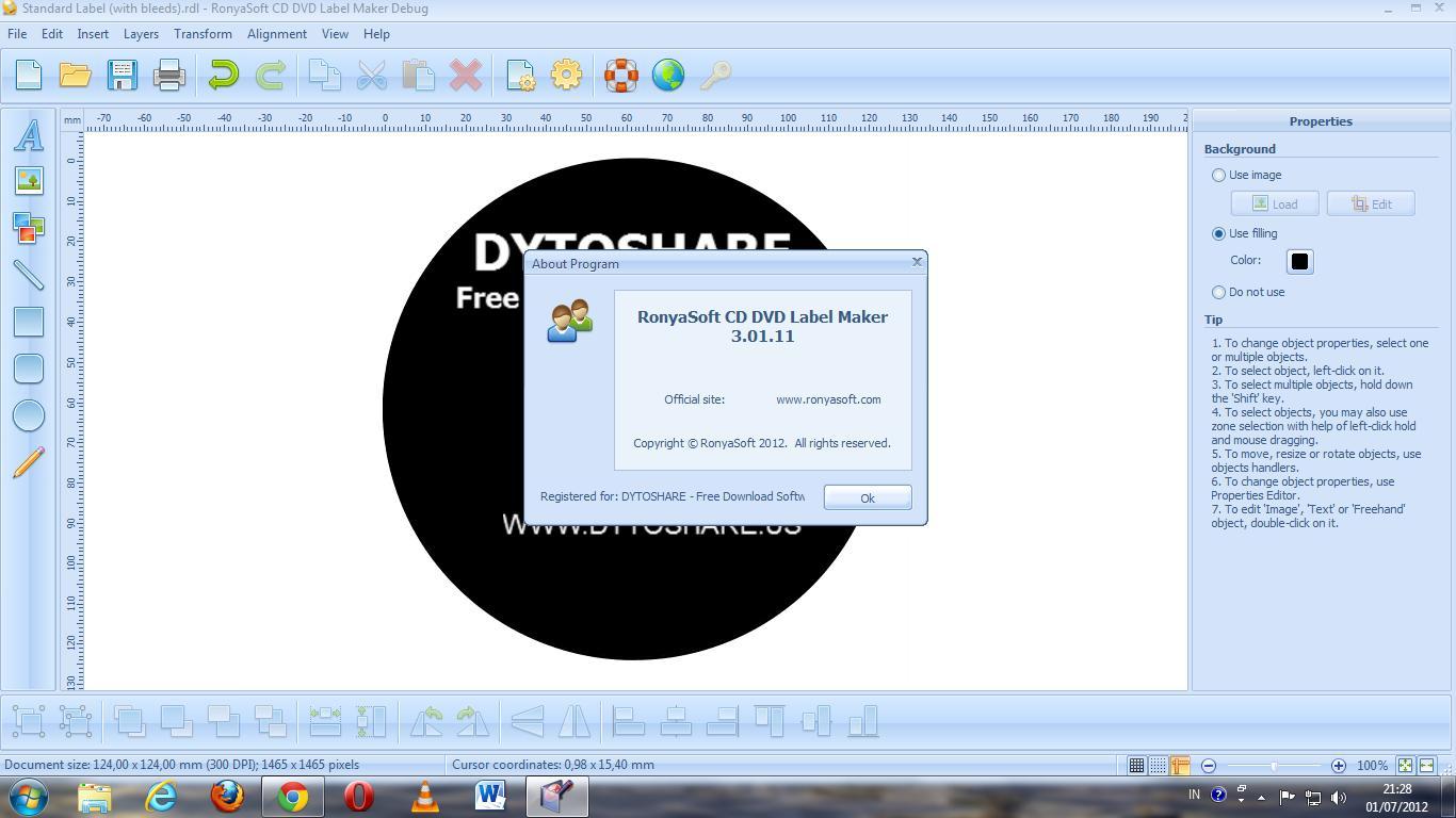 RonyaSoft CD DVD Label Maker 3.2.19 with Keygen | CRACKSurl