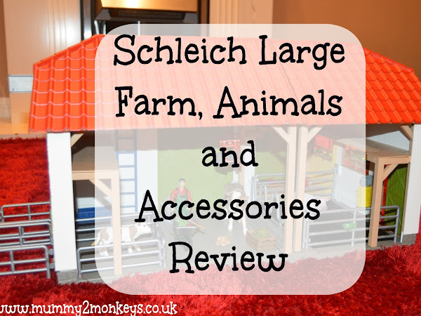 Schleich Large Farm, Animals and Accessories Review