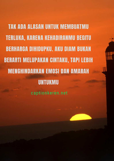 caption Fb cinta