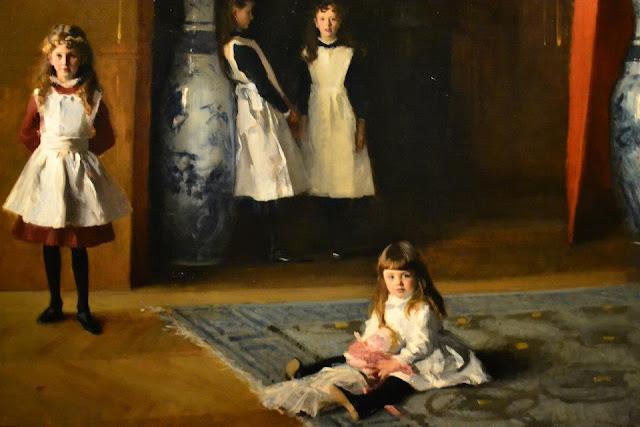 Las hijas de Edward Darley Boit, Sargent Museum of fine arts bostonv
