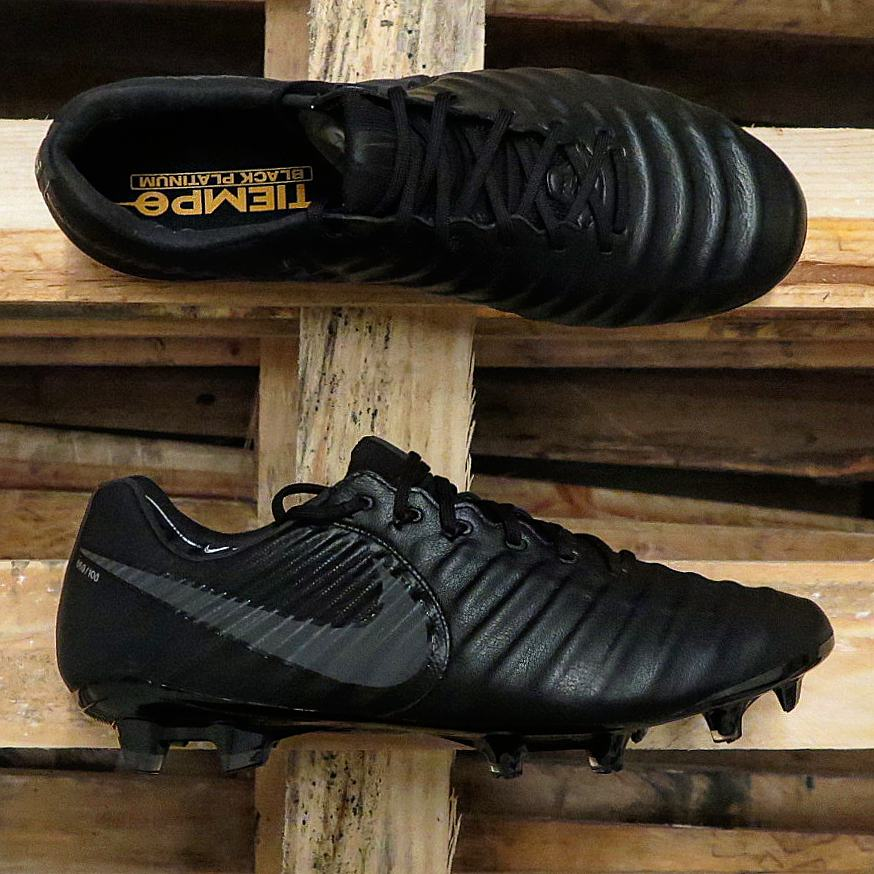 only 100 pairs super limited nike tiempo legend vii black platinum revealed footy headlines. Black Bedroom Furniture Sets. Home Design Ideas