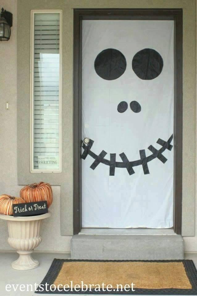 Ideas para tu fiesta ideas para decorar tus puertas en for Ideas para decorar puerta halloween