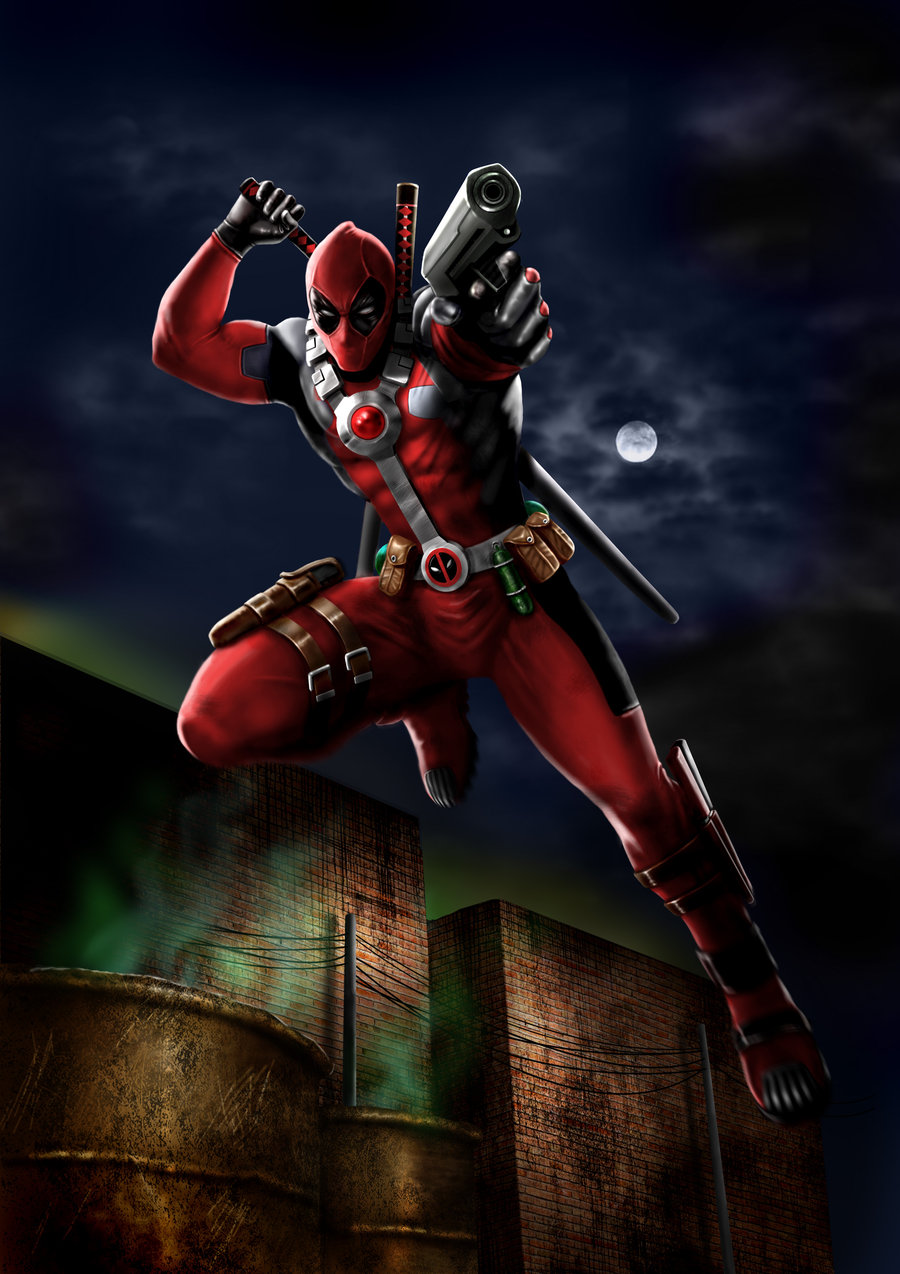 Wallpaper Keren Deadpool Hd