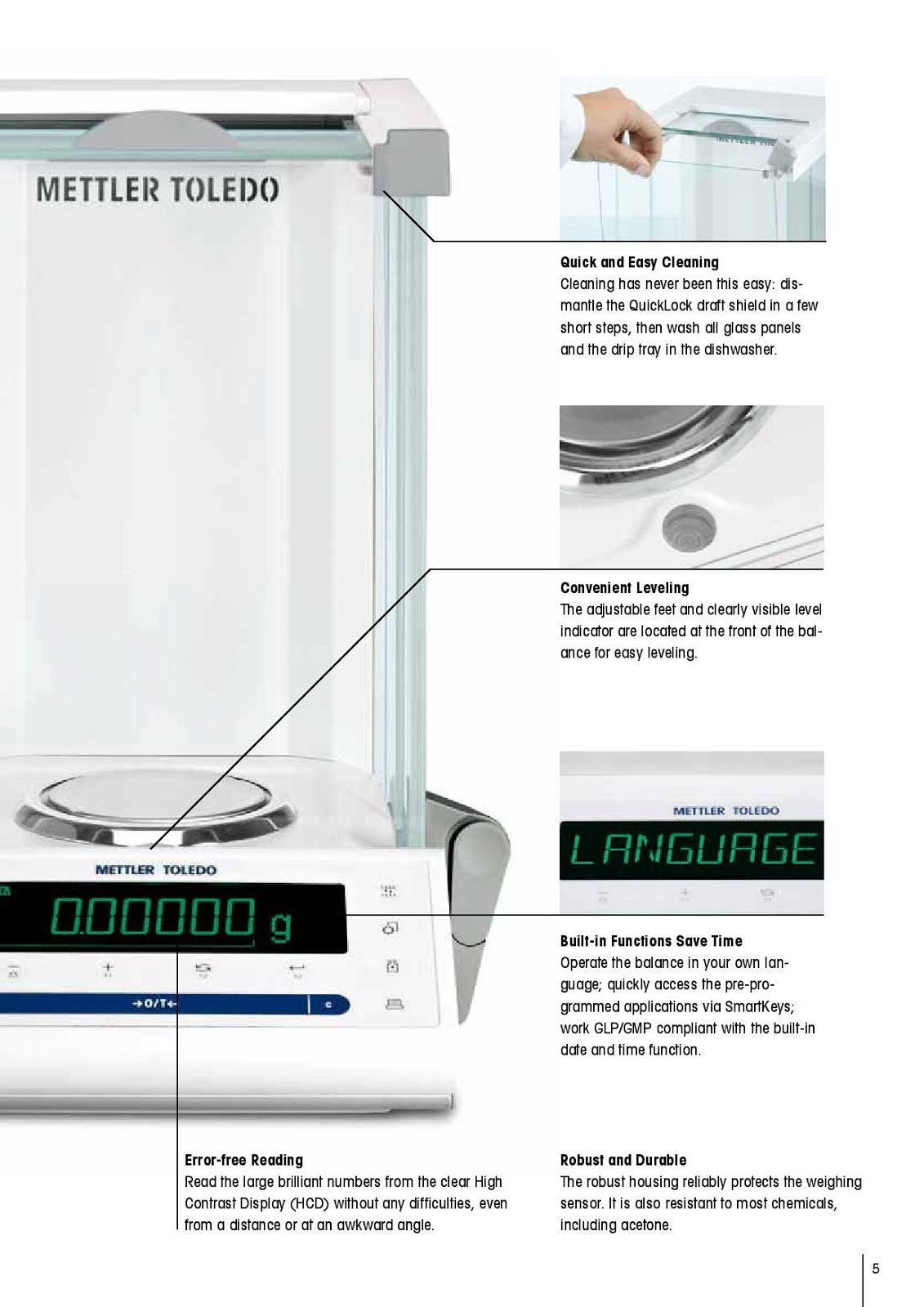 Laboratory Balances from Mettler Toledo | Baseline Scales The Future