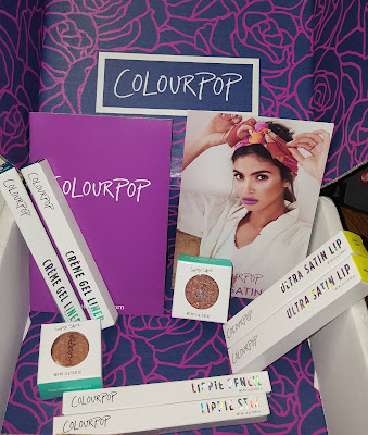 ColourPop Haul-Ultra Satin Lips, Creme Gel Liners, and Super Shock Shadows
