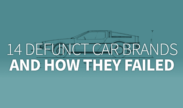 14 Defunct Car Brands And How They Failed