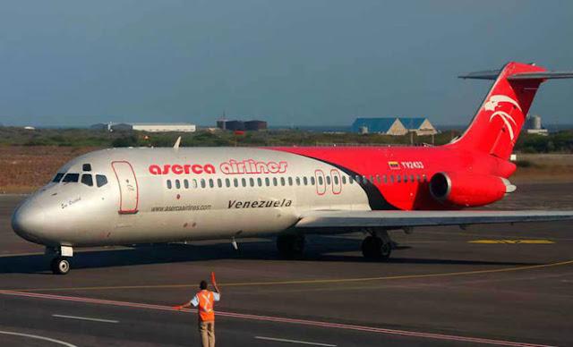 Las claves del colapso de aerolíneas venezolanas