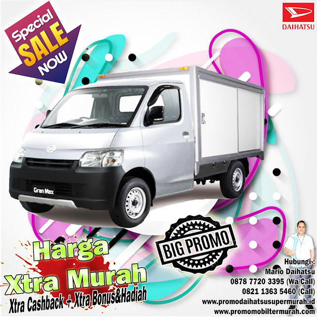 promo daihatsu granmax pick up box