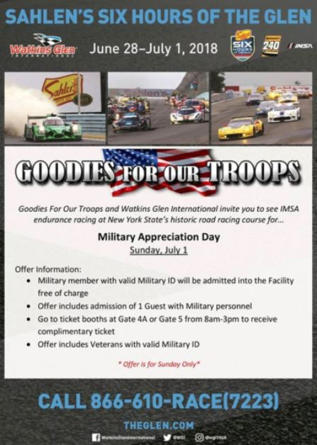 6-28/7-1 Goodies for our Troops