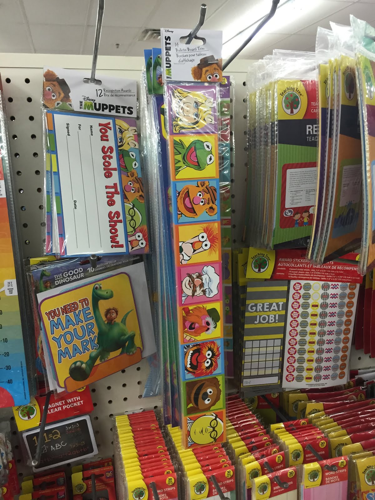 Classroom Decor Dollar Tree ~ Muppet stuff august