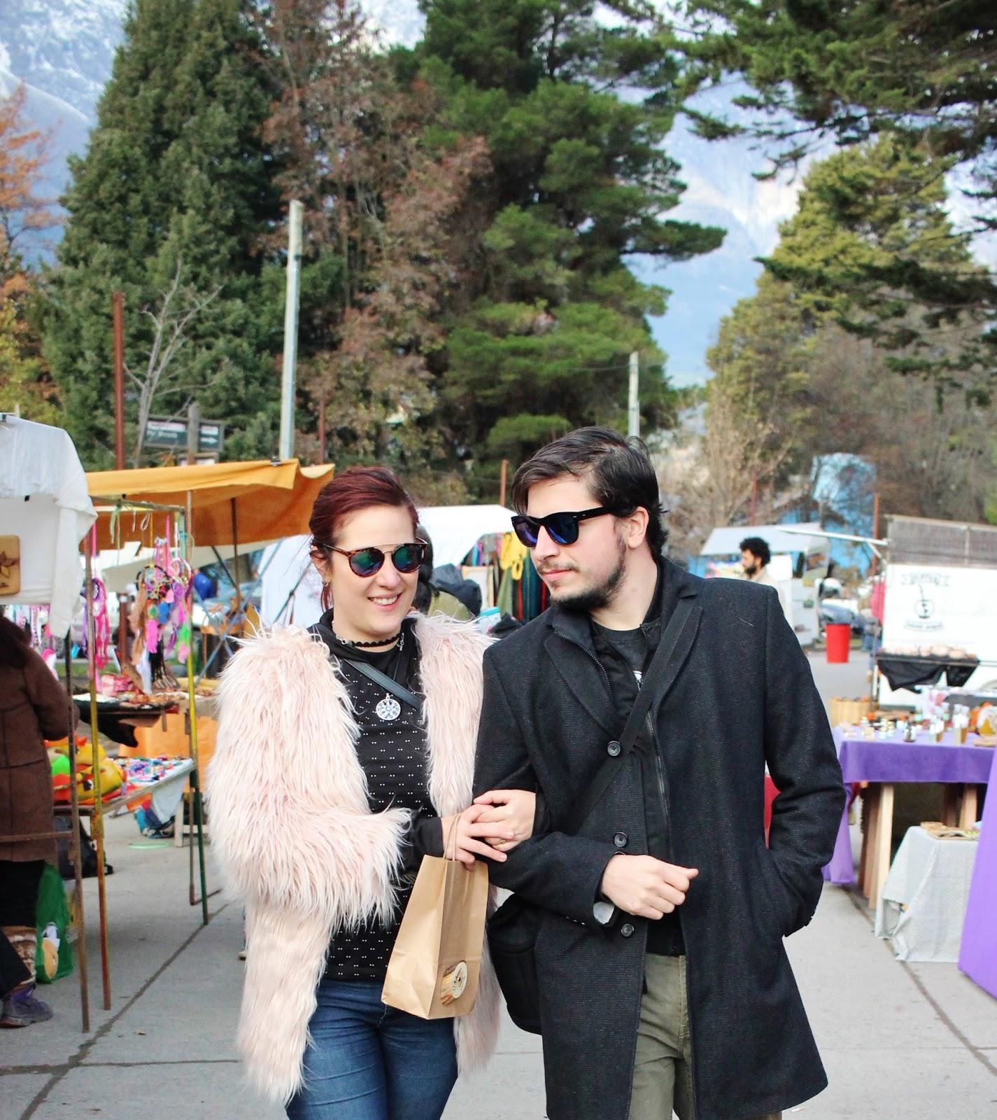 Feria Artesanal EL BOLSON - Patagonia Argentina