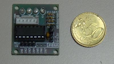 Fig.2 - Modulo con l' ULN2003 - Foto di Paolo Luongo