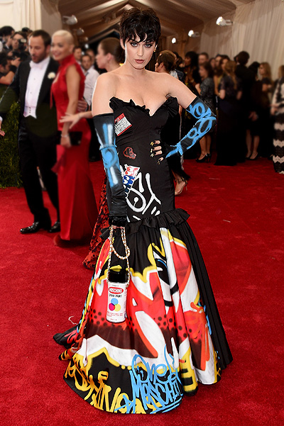 Katy Perry Moschino Costume Institute Ball in the 2015's completely