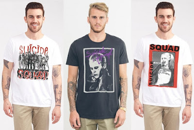 Suicide Squad T-Shirt Collection by Junk Food Clothing x DC Comics