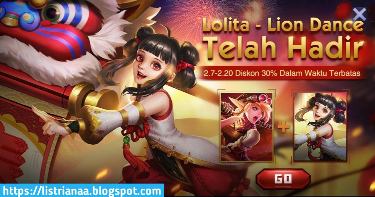 Tutorial Mendapatkan Skin Lolita Lion Dance, Gratis ? 5