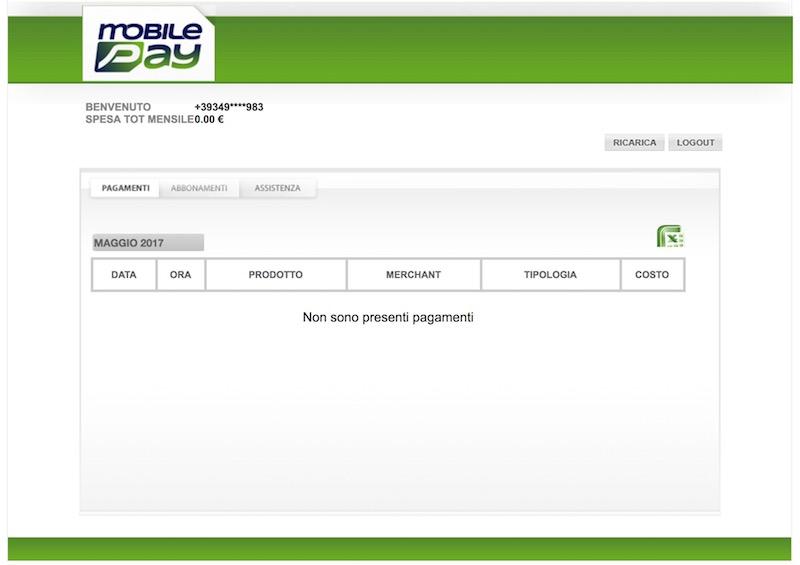 pagamenti mobilepay addebitati e abbonamenti