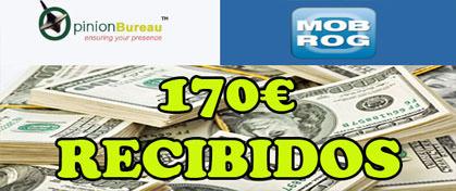 170 € de Mobrog y Opinion Bureau