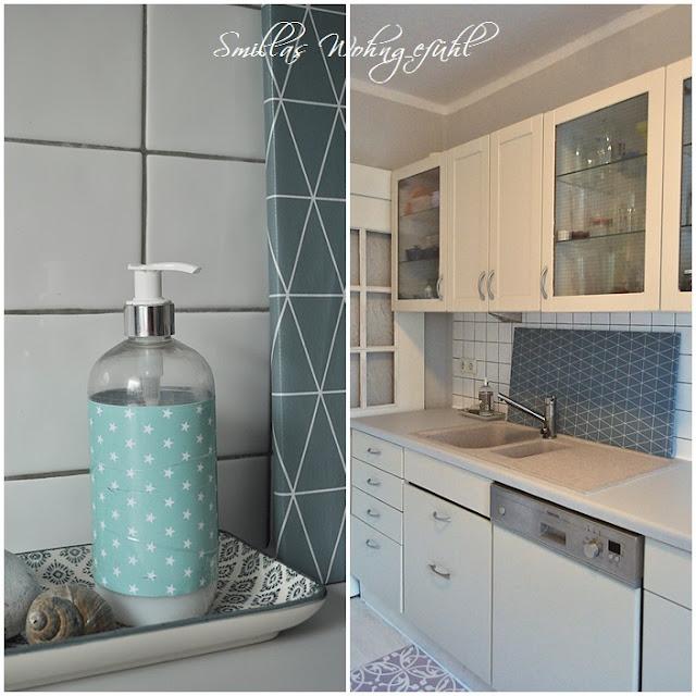smillas wohngef hl endlich neue alte k che mit kreidefarbe. Black Bedroom Furniture Sets. Home Design Ideas