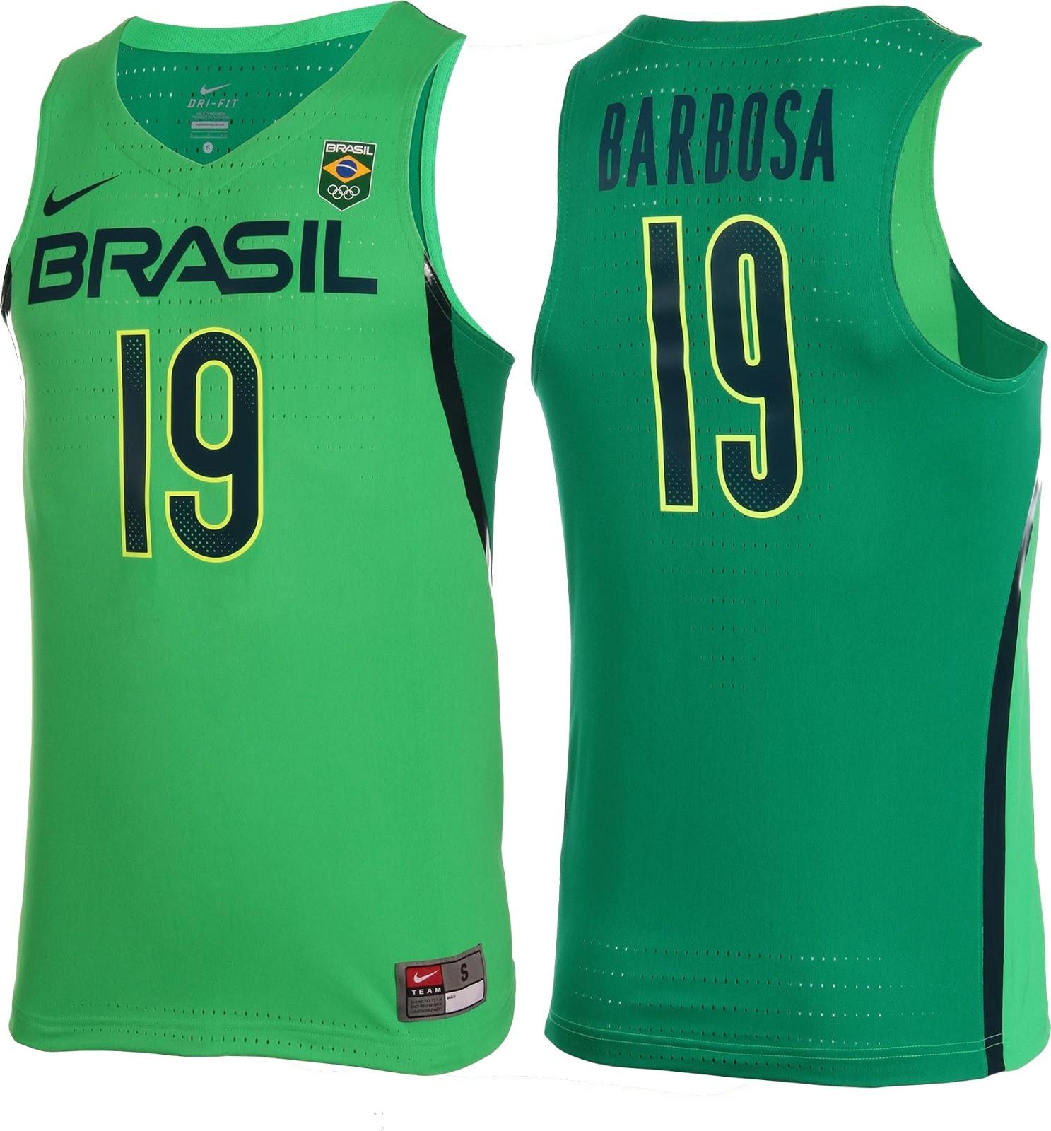 7d3e090659 Nike lança uniformes de basquete do Brasil para Rio 2016 - Show de ...