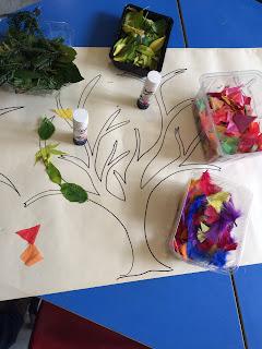 Motor skills autism craft activity