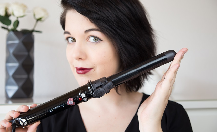 Heart and Soul for Fashion makes a Review of the Ruby Auto Rotating Curler by Irresistible Me