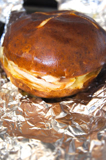 Turkey Cheese Honey Mustard Pretzel Melts: Savory Sweet and Satisfying