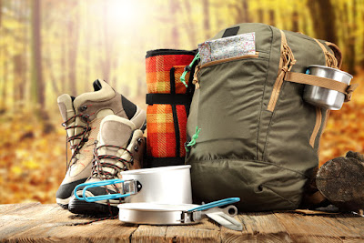 Material completo de Camping