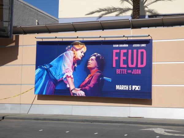 Feud series launch billboard
