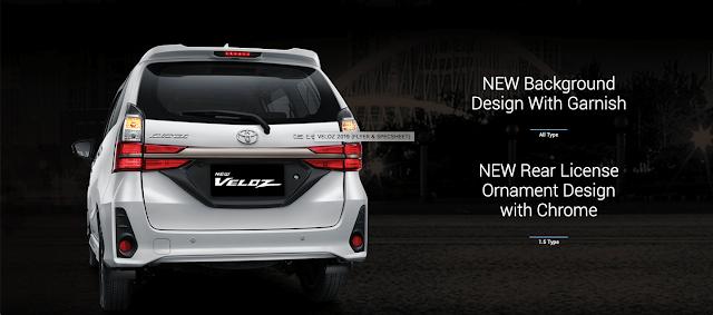 Desain Eksterior Toyota Avanza Veloz 2019 yang Gahar