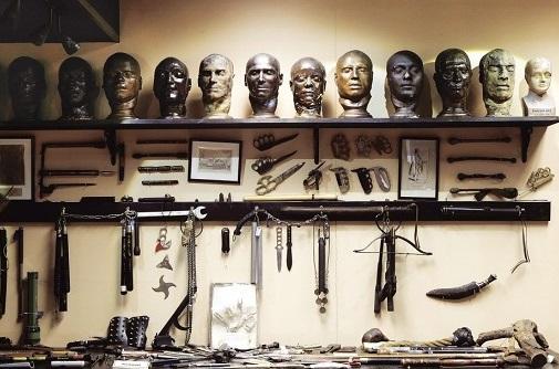 Museo del crimen de Londres. Los museos más raros y extraños del mundo