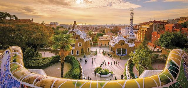 Al Andalus, Gueell Park in Barcelona, (c)gatsi@fotolia.com