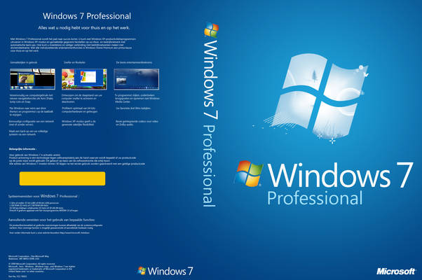 Windows 7 Professional 32 / 64 bit ISO Free Download