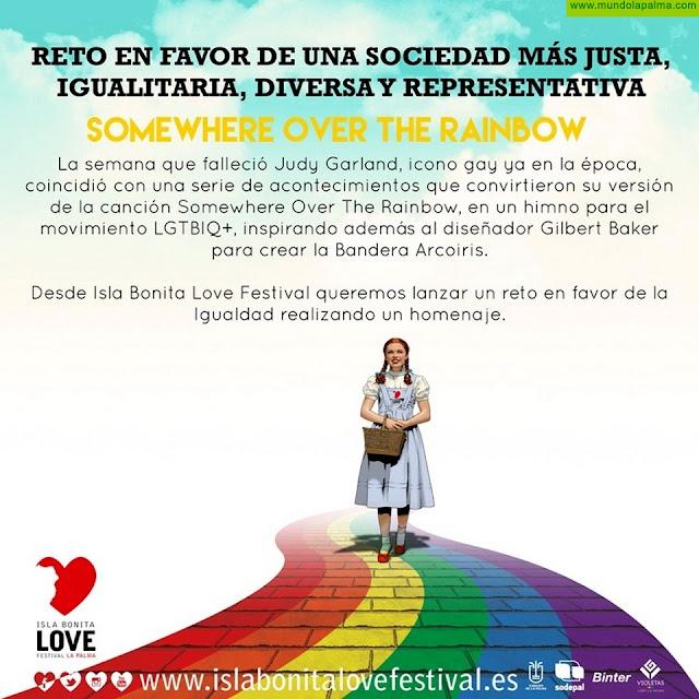 El Isla Bonita Love Festival busca la mejor versión de la canción 'Somewhere over the rainbow'