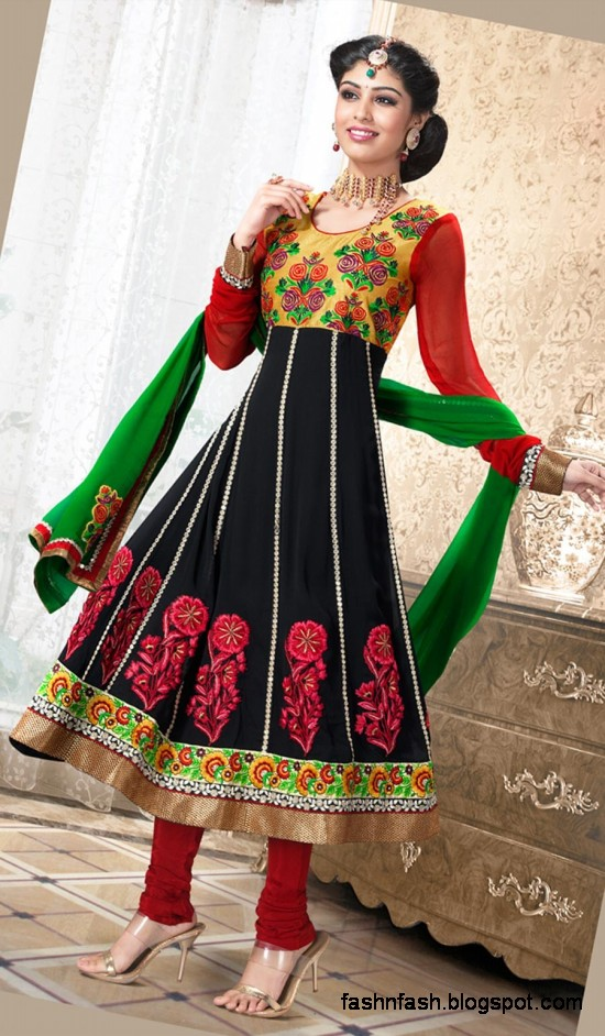 Fashion Amp Fok Anarkali Indian Umbrella Frocks Anarkali Fancy Winter Frock New Latest Fashion Clothes Dress