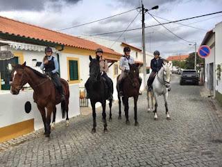Riitta reissaa, ratsastusloma, Portugal, Horsexplore