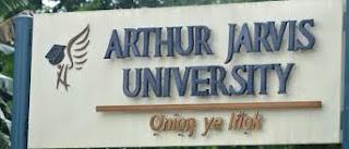AJU Inter-University Transfer Admission Form 2021/2022