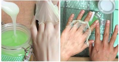 خلطة أجنبية فعالة لتبييض و تنعيم اليدين من أول استعمال